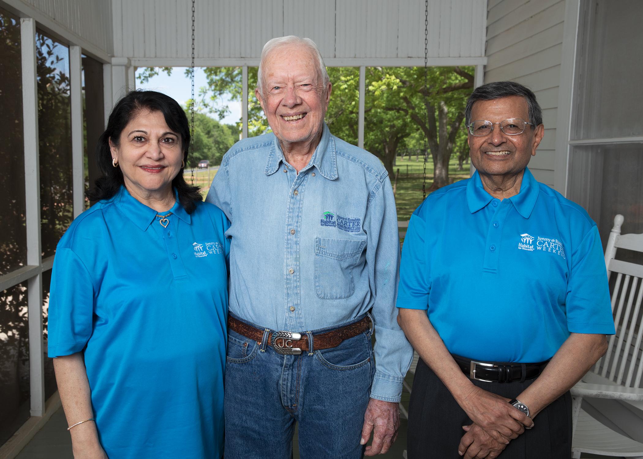 President Carter Jag Madhuri Sheth Plains
