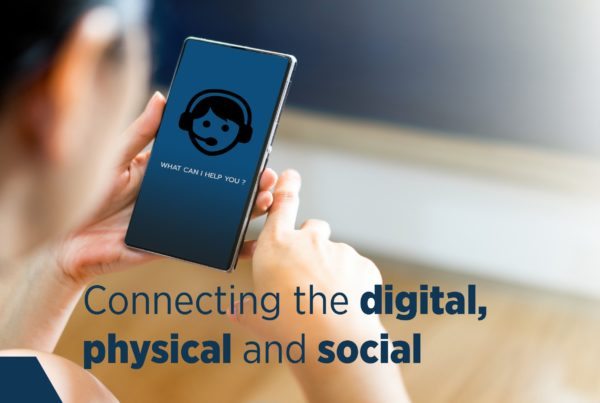 Connecting Digital Physical Social