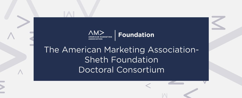 AMAF Sheth Doctoral Consortium