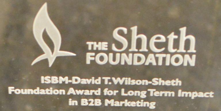Sheth Wilson Award